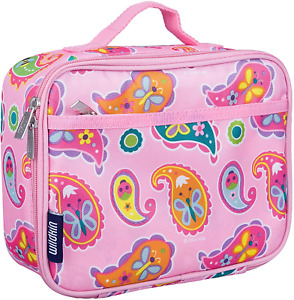 Wildkin Kids Insulated Lunch Box for Boys and Girls, Perfect Size for Packing or