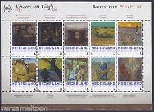 "NVPH 3013 P: VINCENT VAN GOGH 1853 - 1890: ""BOERENLEVEN""  2015 vel postfris"