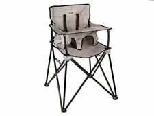 ciao! Baby Portable High Chair, Grey Check