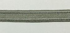 """3/4"""" Metallic Silver Braid Gimp - Put-up: 18 Continuous yards"""