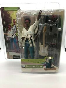 McFarlane Toys: Jimi Hendrix Woodstock Action Figure 2003 Spawn.com (NEW IN BOX)