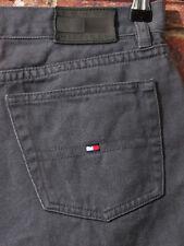 VTG 90's Tommy Hilfiger 4 Mom Jeans High Waisted Denim Grey RARE
