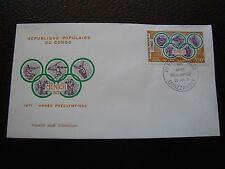 CONGO (brazzaville) - enveloppe 1er jour 20/7/1971 (B3)