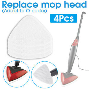 4x Replacement Microfiber Mop Head Pad Refill For Vileda Steam 100 Hot Spray Mop