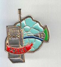 RARE PINS PIN'S .. POLICE NATIONALE TALKIE WALKY PHR ARR. 12 PARIS 75  ~BL