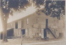 1910s CABINET PHOTO DUO GETTYSBURG PA JOHN DEERE DEALER FARM IMPLEMENT SHOP