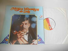 LP Ethno Juan Vicente Torrealba - Musica Venezolana De Gala (10 Song) VELVET DND