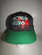 Rare Vtg World Cup 94 Soccer Football SnapBack Hat Cap EUC Logo Athletic a7c09d03d