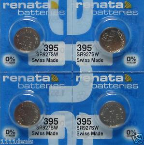 395 Battery Replacement Watch Battery Renata x 4
