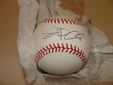 Toronto Blue Jays Jp Arencibia firmado Mlb Rawlings Baseball Holofoil Coa Auto