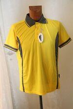 PEN DUICK - polo boutonné sport homme   ML PK 105 jaune et gris Taille XXL neuf