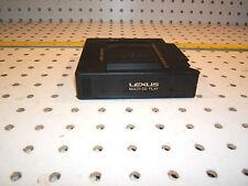 Lexus LS400 1996 in GLOVE box CD OE changer 6 CD Genuine Lexus OEM 1 Magazine