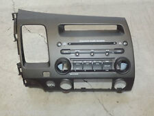 OEM USDM 2006 - 2011 Genuine Honda Civic radio dash panel assembly brown / taupe