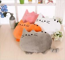 Kawaii Stuffed Plush Pusheen Cat Toy Soft Throw Pillow Cushion Kid Doll 40/50CM*