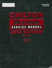 2011-2012 Acura Honda All Models Chilton Asian Repair Service Manual Vol. 1 1059