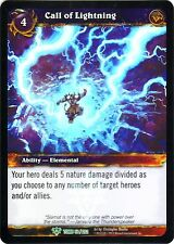 WOW Call of Lightning 50/202 TOMB NEW PROMO MINT FOIL ENG WORLD OF WARCRAFT