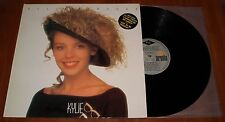 KYLIE MINOGUE FIRST ALBUM LP *RARE* GREEK 1st PRESS VINYL BMG ARIOLA 1988 NM