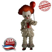 Mezco Living Dead Dolls Presents IT 2017 Pennywise Doll In Stock Free Shipping