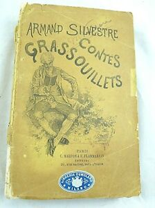 libro FRANCESE erotico  ARMAND SILVESTRE CONTES GRASSOUILLETS HUMOR UMORISTICO
