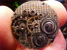 vintage Scarce 6/0s Hamilton 17J grade 988 movement ticking