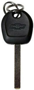 NEW CHEVROLET GM FACTORY ORIGINAL TRANSPONDER CHIP BOW-TIE LOGO KEY BLANK