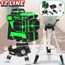12 / 16 Linien Laser Level Self 4D 360° Licht Rotary Messgeräte Kreuzlinienlase
