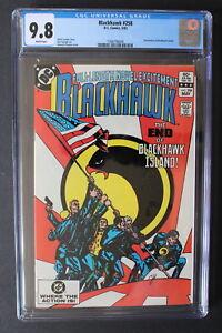 BLACKHAWK #258 Death 1983 CHAYKIN Classic FLAG Cover SPIELBERG Movie CGC 9.8