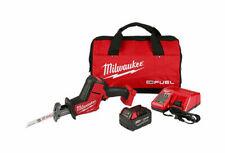 Milwaukee 2719-21 M18 combustible Hackzall Sierra de vaivén con 5.0ah Kit De Batería-Nuevo