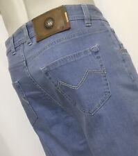 "MANCINI  36"" Waist  34"" Length  RONALD Pale Blue Regular Fit Jeans  RRP £199"