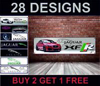 Jaguar Xfr XF Poster Striscione Garage Officina Concessionario Ufficio Meccanico