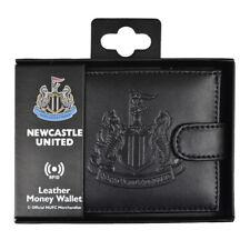 Newcastle FC tecnología RFID en relieve de cuero billetera cartera nuevo regalo de Navidad