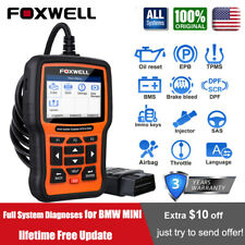 Foxwell NT510Elite For BMW All System ABS SRS DPF TPMS OBD2 Diagnostic Scanner