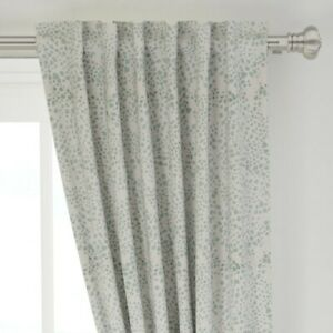 """Forest Forest Green Green Irregular Spots 50"""" Wide Curtain Panel by Roostery"""