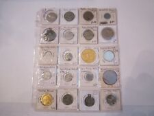 80 METAL TOKENS & COINS - COLLECTIBLE - METAL - FIND YOUR TREASURES - LOT #9