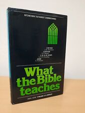 What The Bible Teaches 1&2 Peter 1,2&3 John & jude new testament Commentaries