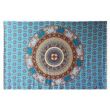 Indian Tapestry Wall Decor Mandala Bohemia Bedspread Gypsy Beach Blanket