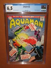 Aquaman #24 Cgc 6.5 (it looks better) White pages 1965 Ships Insured 12 Hd pix