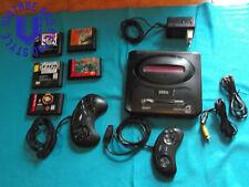 Nintendo Sega Mega Drive 2 + cavi + 2 Joypad + 5 giochi  Made in Japan
