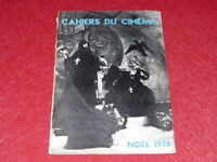 [REVUE LES CAHIERS DU CINEMA] N°90 # DEC 1958 NOËL 1958 EO 1rst Print