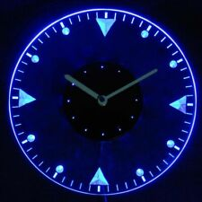 cnc2020-b Man Cave Bold Illuminated Wall Clock with LED Night Light
