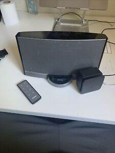 Bose SoundDock Portable Music System N123 Docking Station W Remote & Adapter