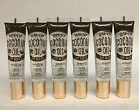 6 PCS BROADWAY VITA-LIP COCONUT OIL Lip Gloss Hydrates Moisture Shine .47 oz