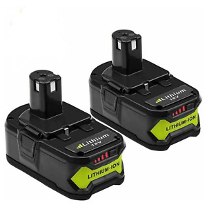 2X BATTERIES RYOBI ONE + 5.0Ah 18v outil perceuse P102 103 104 105 106 107 RB