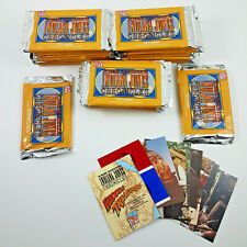 1992 The Young Indiana Jones Collector Cards 26 SEALED Packs + 2 opened packs
