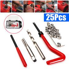 25pcs Thread Restore Tool Set Helicoil Repair Recoil Insert Kit M6 x 1.0 x 8.0mm