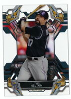 TODD HELTON 2019 TOPPS HIGH TEK BLACK PARALLEL #41/50 ROCKIES