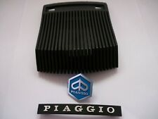 Vespa PX 125 T5 Italian Quality Black Horn Grill Cover & Badge Set