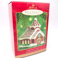 Gingerbread Church Christmas MINT NEW Hallmark Keepsake 2000 Ornament