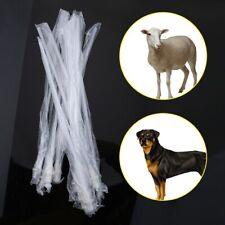 "10"" Artificial Insemination Rods Breeding Catheter Tube Dog Sheep Goat 10-100Pcs"