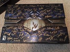 *SIGNED & SEALED* Starcraft 2 LEGACY OF THE VOID Collector's edition CE: MR JACK